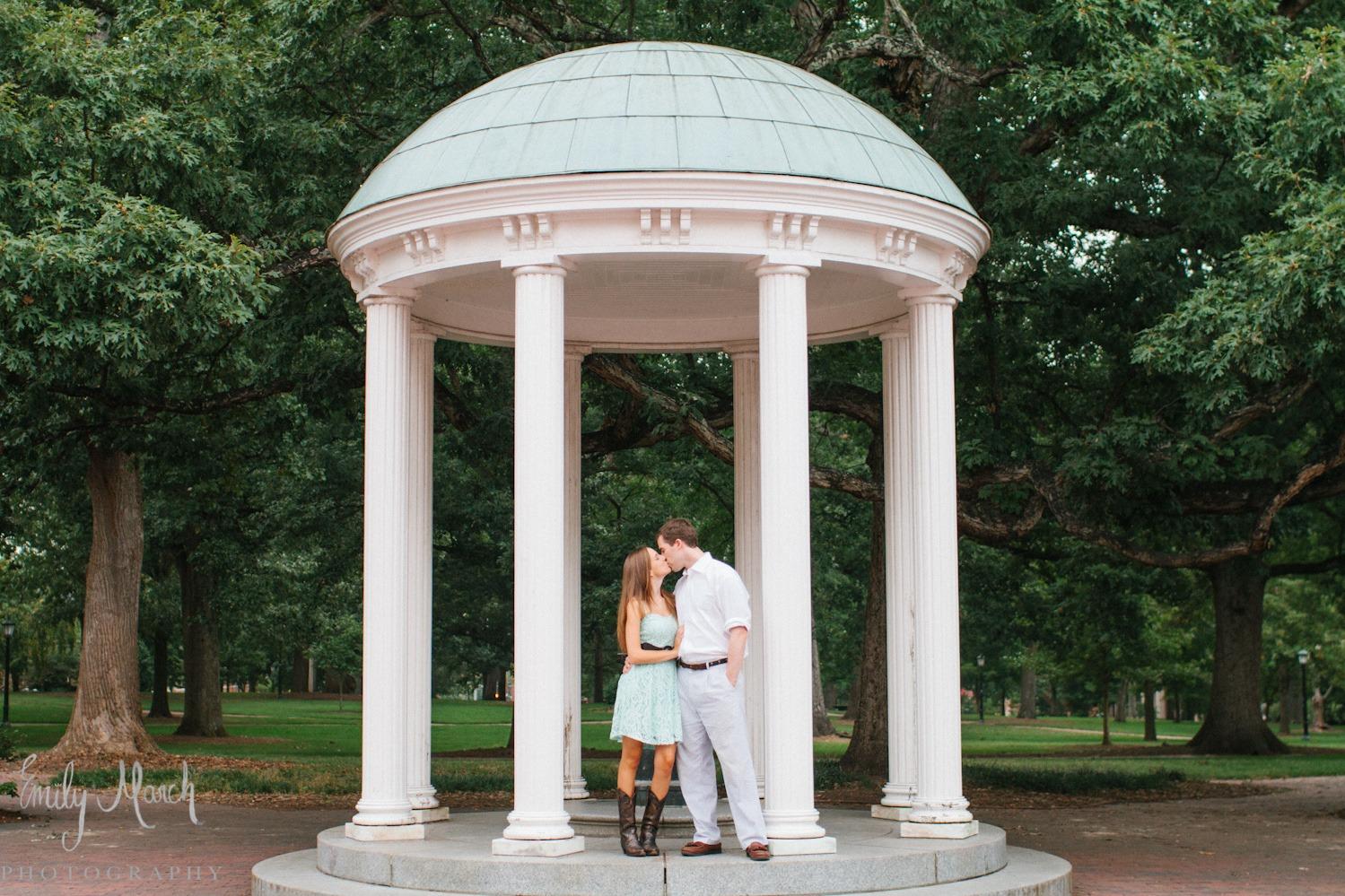 Real Chapel Hill Engagement - Wedding Belles Blog