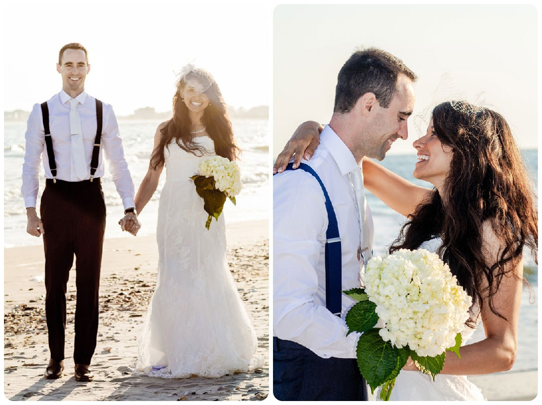 Real Wedding: Seaside Splendor in Early Spring - Wedding Belles Blog