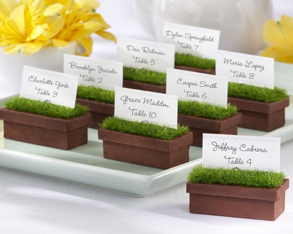 Window Planter Place Card Holder  |  Fairly Southern