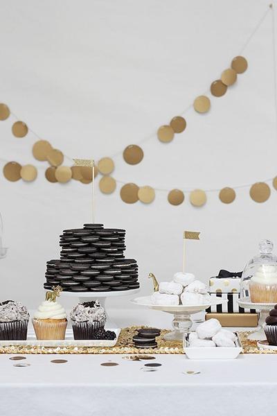 White Dessert Table via SaveOnCrafts - Fairly Southern