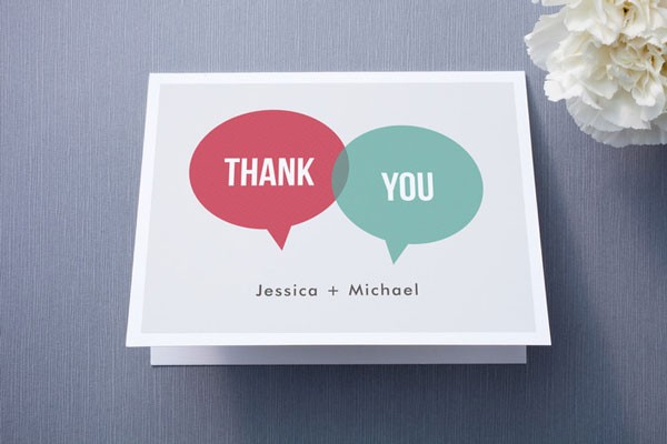 5 Wedding Thank You Note Tips via mywedding - Fairly Southern