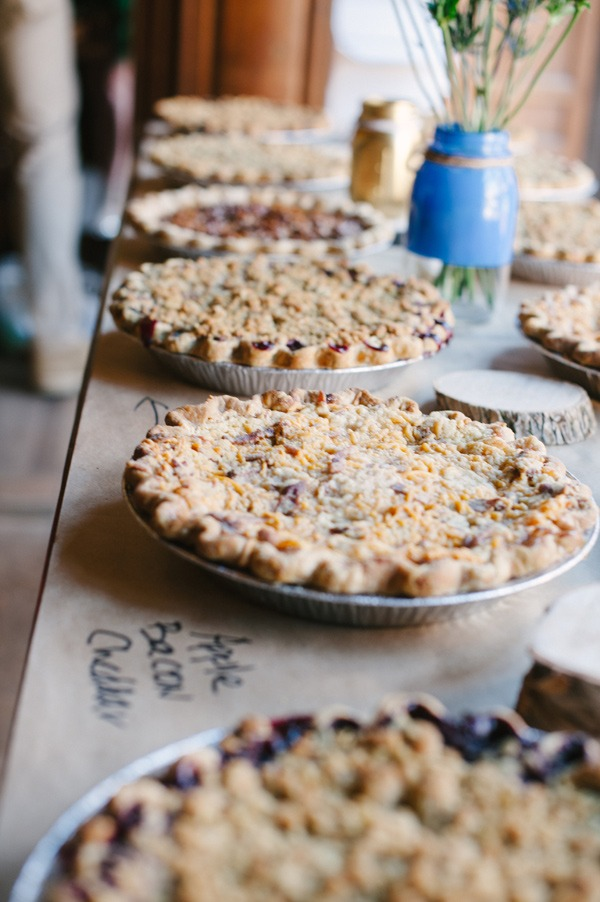 Least Favorite Wedding Trends of 2014: Pie in Lieu of Wedding Cake - Fairly Southern