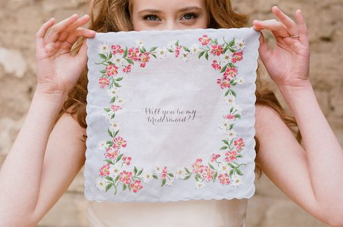Wedding Chicks 24-Hour 40% Sale - Wedding Handkerchief - Fairly Southern