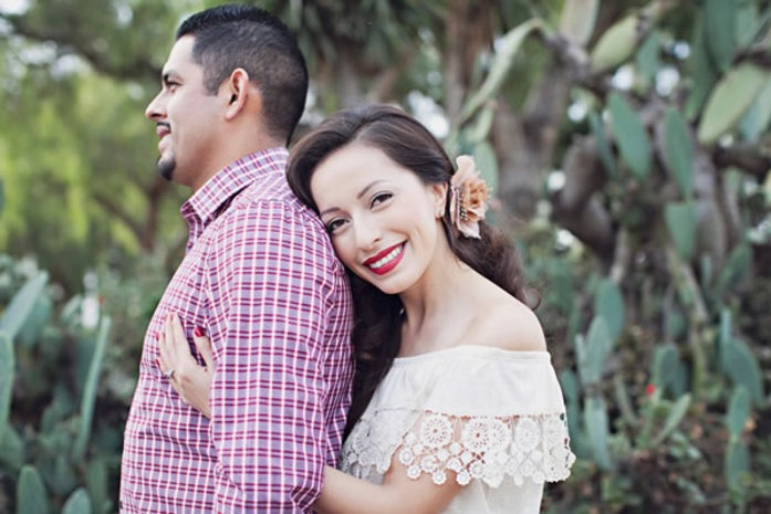 What to Wear for Your Engagement Photos, via WeddingWire - Fairly Southern