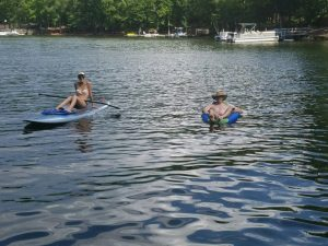 Small Joys: lazy summer lake days | Fairly Southern