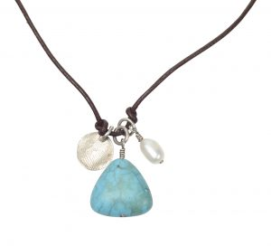 "Fair trade ""Julia"" necklace by Trades of Hope! Features the artisan's fingerprint in sterling silver. 