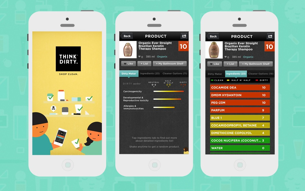 Clean beauty must-have! The Think Dirty app rates beauty products based on their level of toxicity.   Fairly Southern