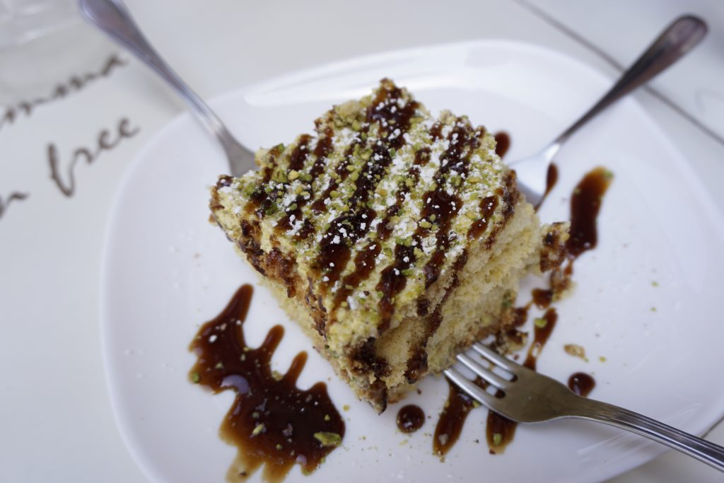 Gluten-Free Tiramisu at Mama Eat in Rome - Tips for Eating Gluten-Free in Italy   Fairly Southern