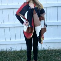 Cozy, Ethically Made Mosaic Blanket Scarf | Fairly Southern