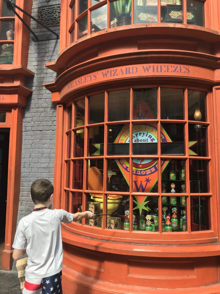 Weasleys' Wizard Wheezes at Wizarding World of Harry Potter | Fairly Southern
