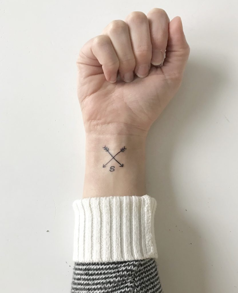 Compass Tattoo Pointing Back to Self | Fairly Southern