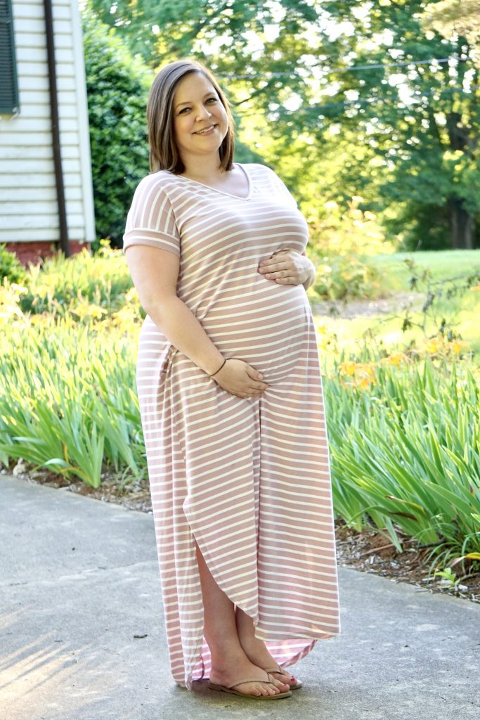 Ethical & Sustainable Maternity Fashion with Poshmark Stylist Christie Barker | Fairly Southern
