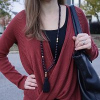 Rust Colored Sweater for Fall - Why I Haven't Bought New Clothes This Fall | Fairly Southern