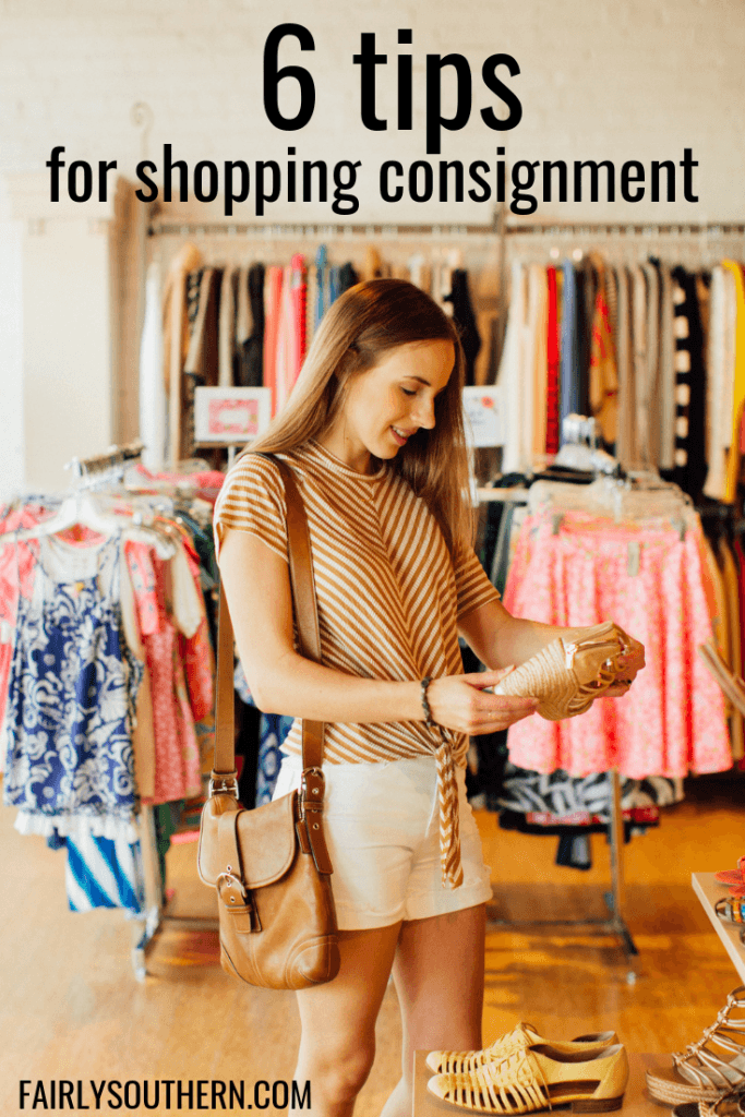 6 Tips for Shopping for Consignment Clothing | Fairly Southern