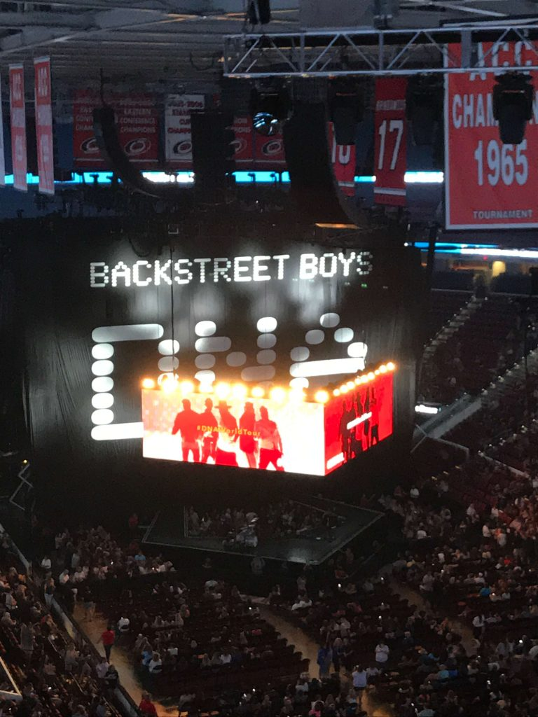 The Backstreet Boys concert at PNC Arena in Raleigh -  Small Joys     Fairly Southern