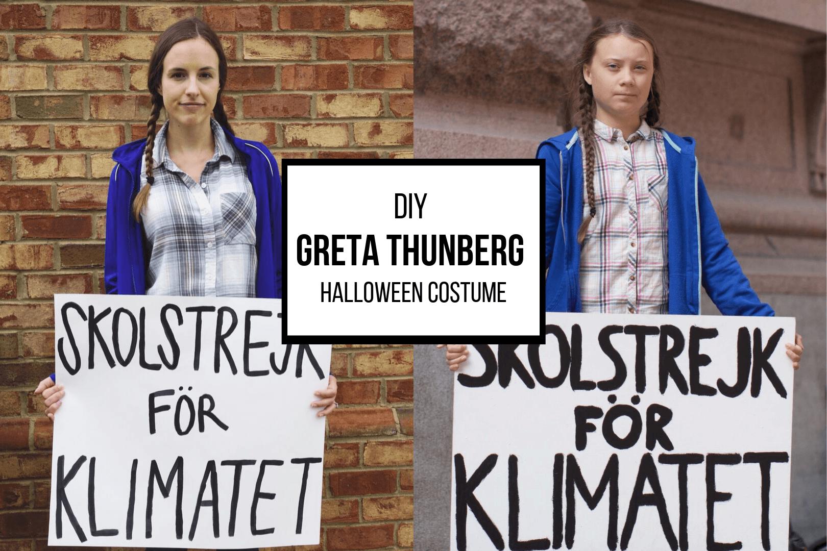 DIY Greta Thunberg Halloween Costume: Sustainable & Easy!