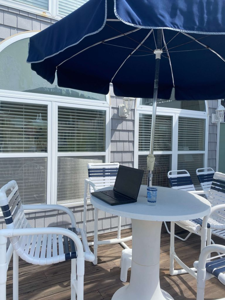 Beach house deck  |  Fairly Southern