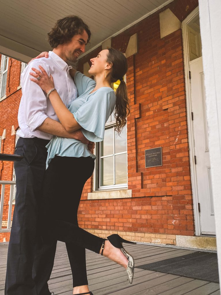 Ethical and Sustainable Valentine's Day or Date Night Outfit | Fairly Southern